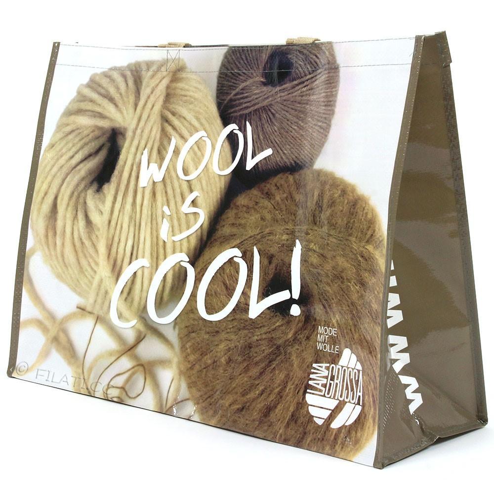 Lana Grossa Sac shopping WOOL IS COOL - 1