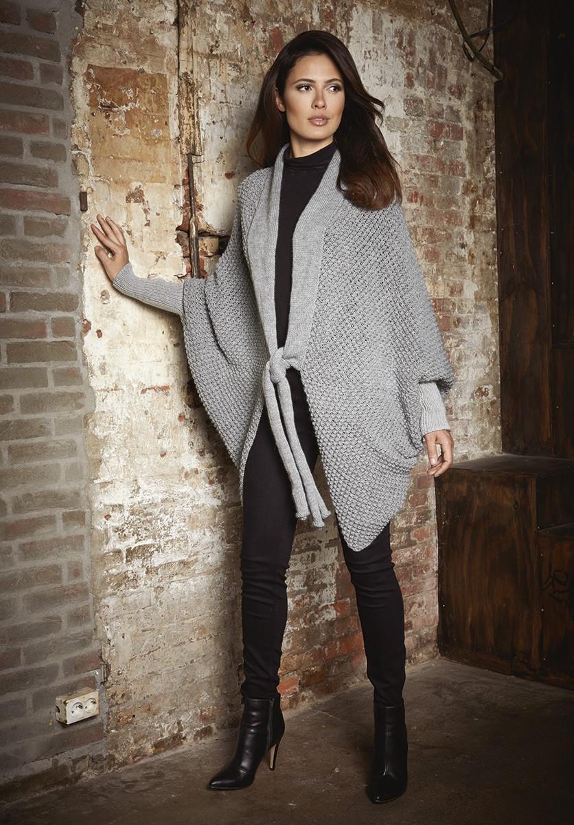 Lana Grossa GILET EN MOTIF PERSAN Cool Wool Alpaca