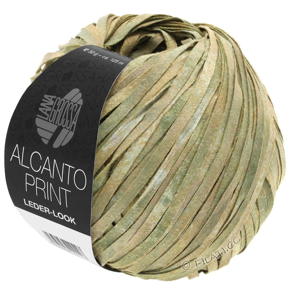 Lana Grossa ALCANTO Print | 101-nature/beige/gris vert