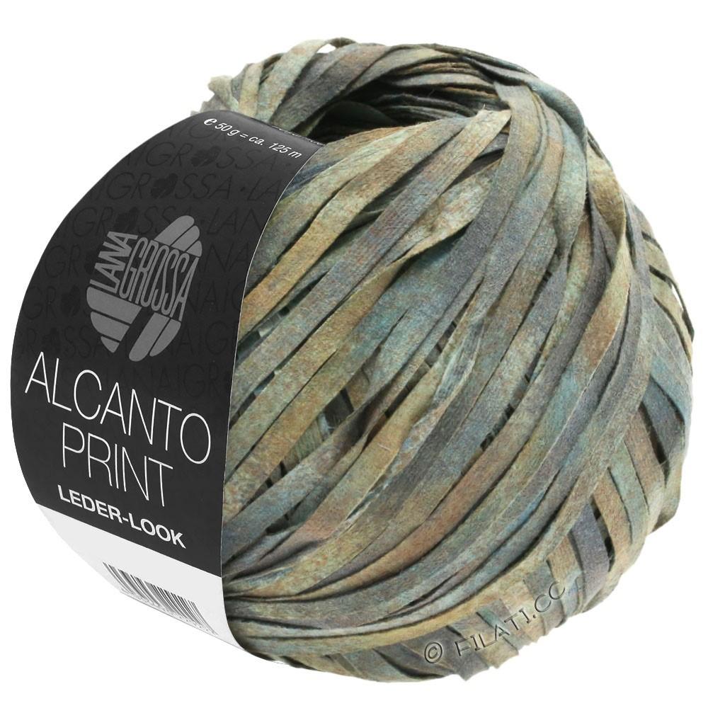Lana Grossa ALCANTO Print | 102-gris/beige