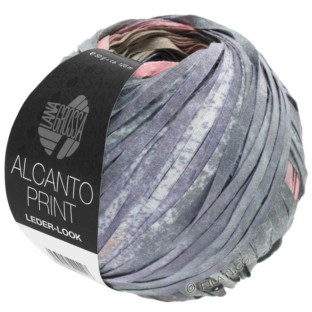 Lana Grossa ALCANTO Print | 205-nature/beige/gris/vieux rose