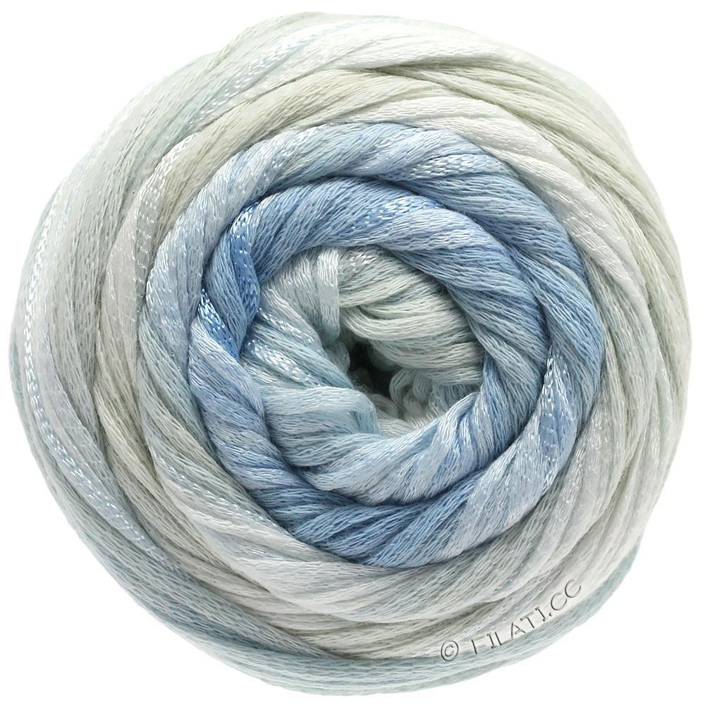 Lana Grossa ALLEGRO Degradé | 204-nature/vert pâle/bleu tendre/bleu gris