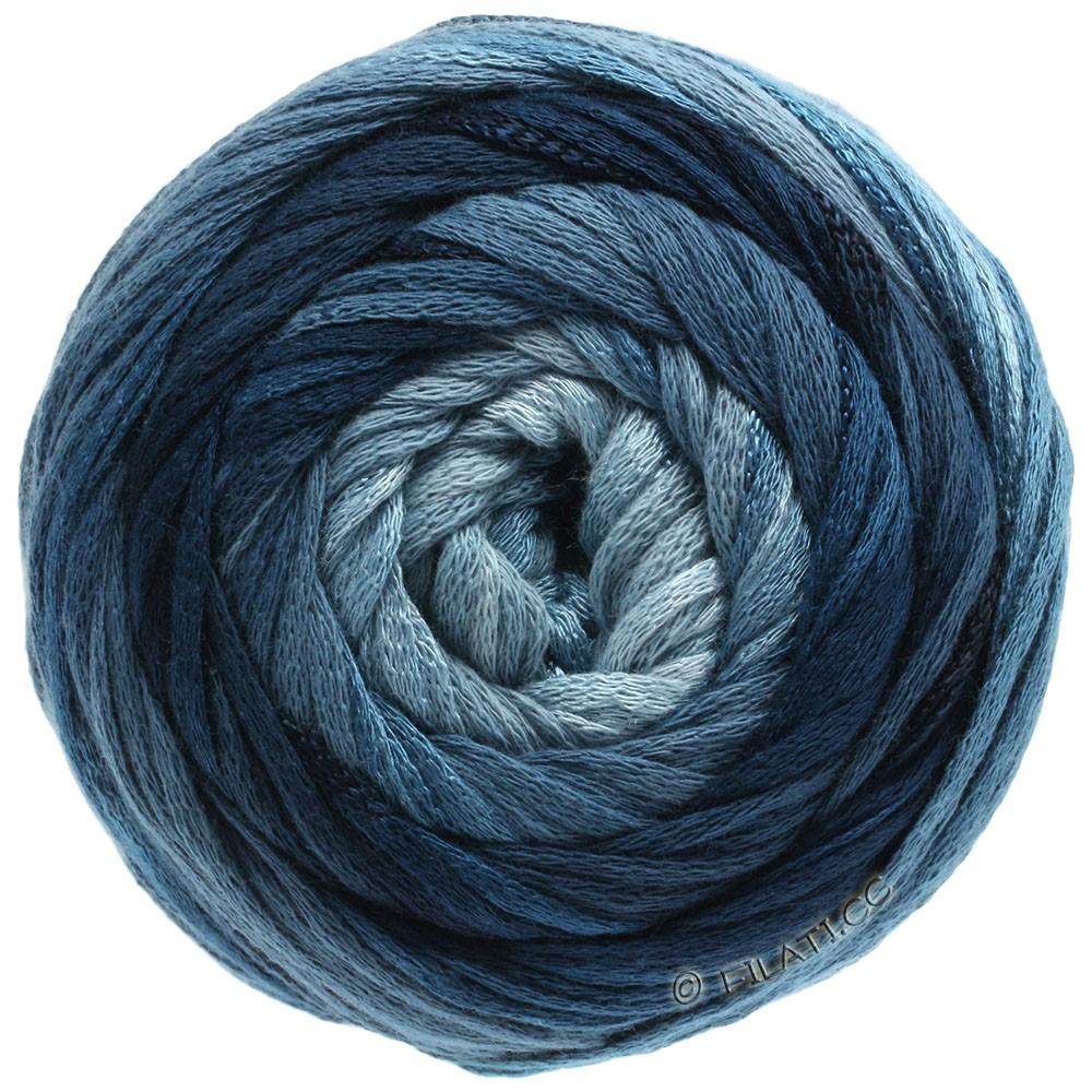 Lana Grossa ALLEGRO Degradé | 206-bleu clair/gris/vert pétrole/pétrole foncé