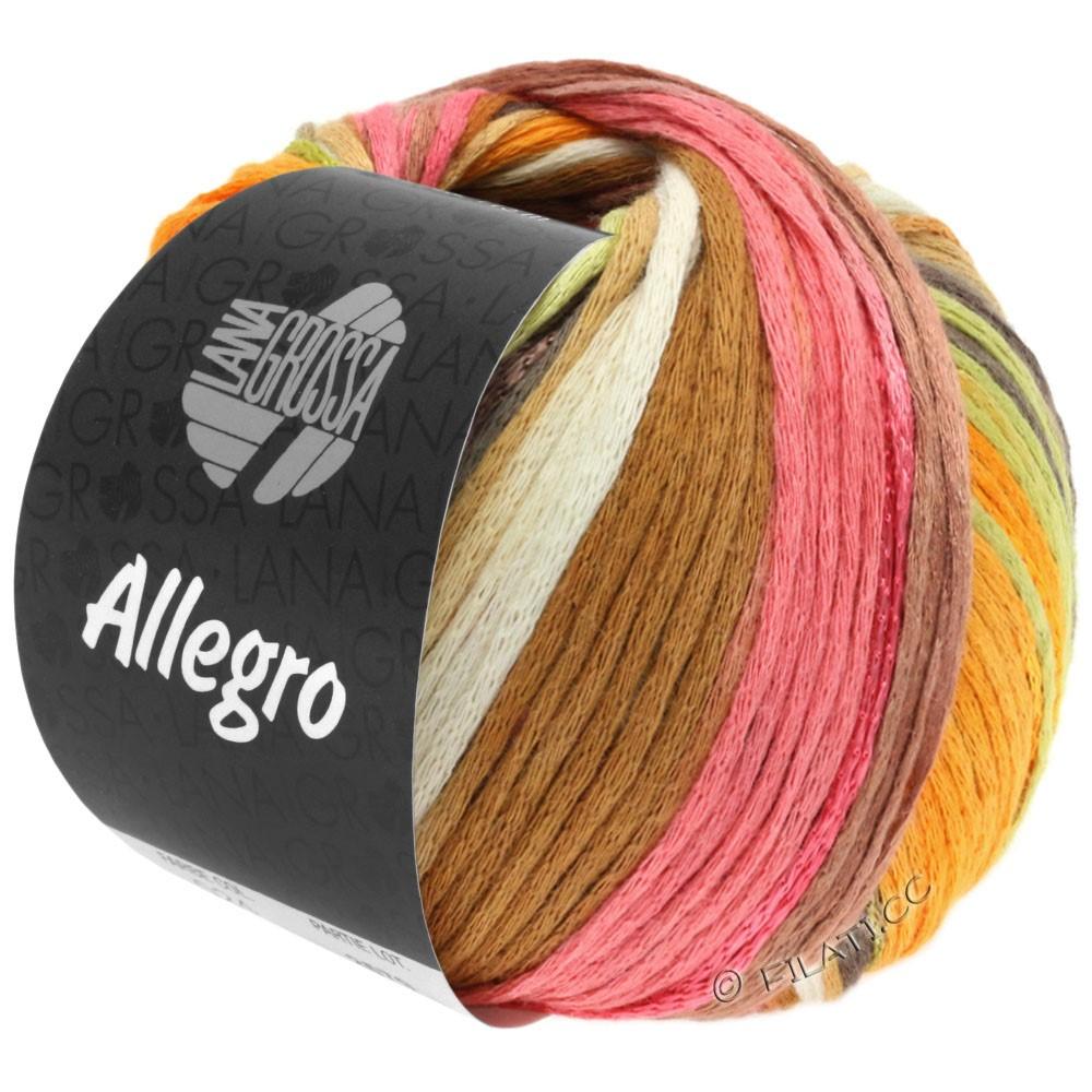 Lana Grossa ALLEGRO | 026-blanc/ambre/rose/bois de rose/cuivre
