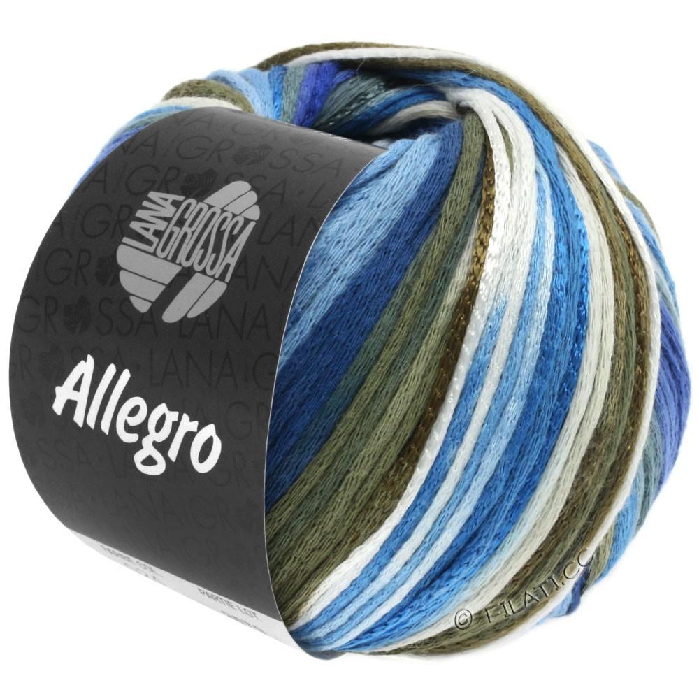 Lana Grossa ALLEGRO | 027-blanc/bleu tendre/kaki/gris vert