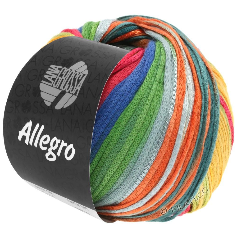 Lana Grossa ALLEGRO | 032-rouille/jaune miel/pétrole/vert/gris clair/brun gris/bleu