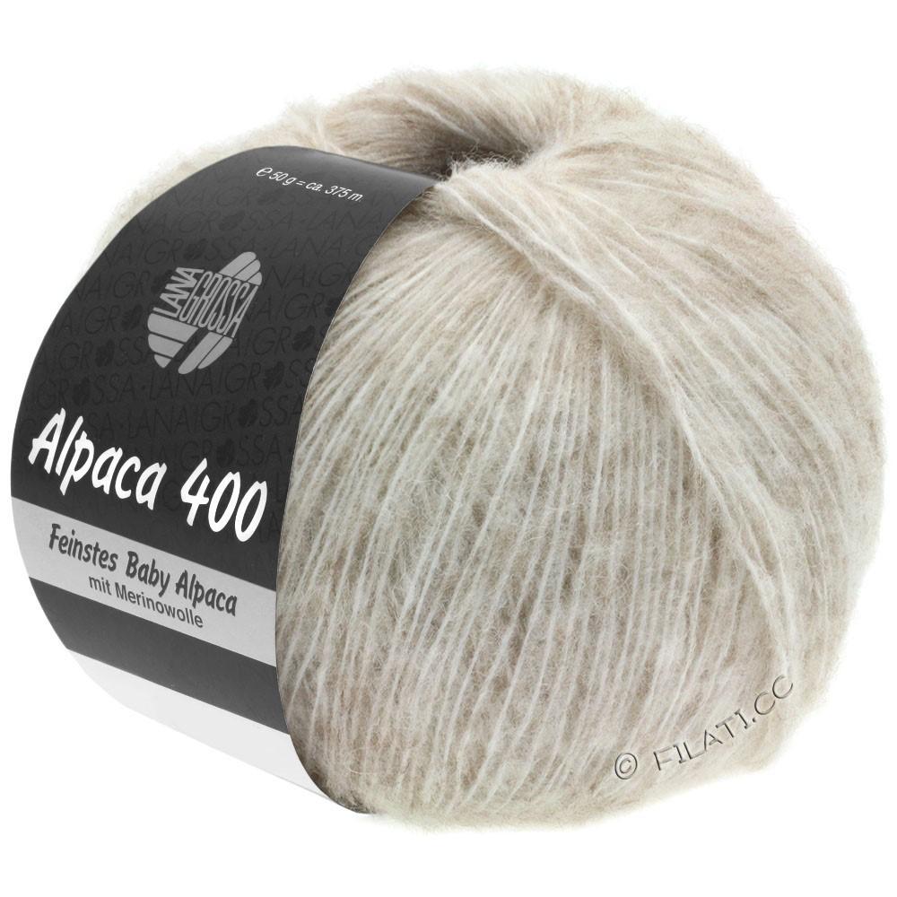 Lana Grossa ALPACA 400 | 02-beige clair
