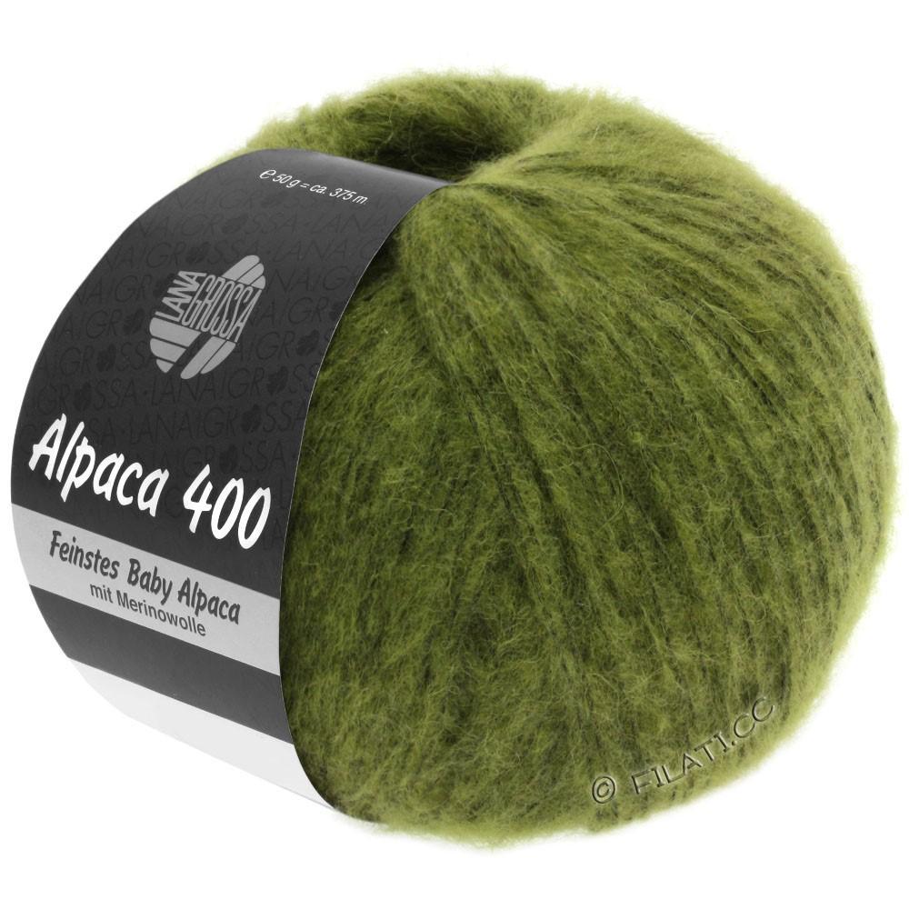 Lana Grossa ALPACA 400 | 11-vert olive