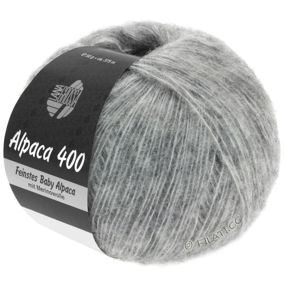 Lana Grossa ALPACA 400 | 14-gris clair