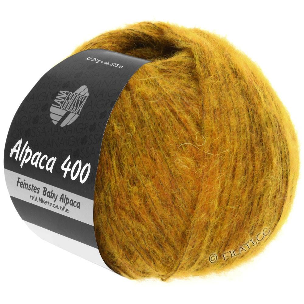 Lana Grossa ALPACA 400 | 18-ambre