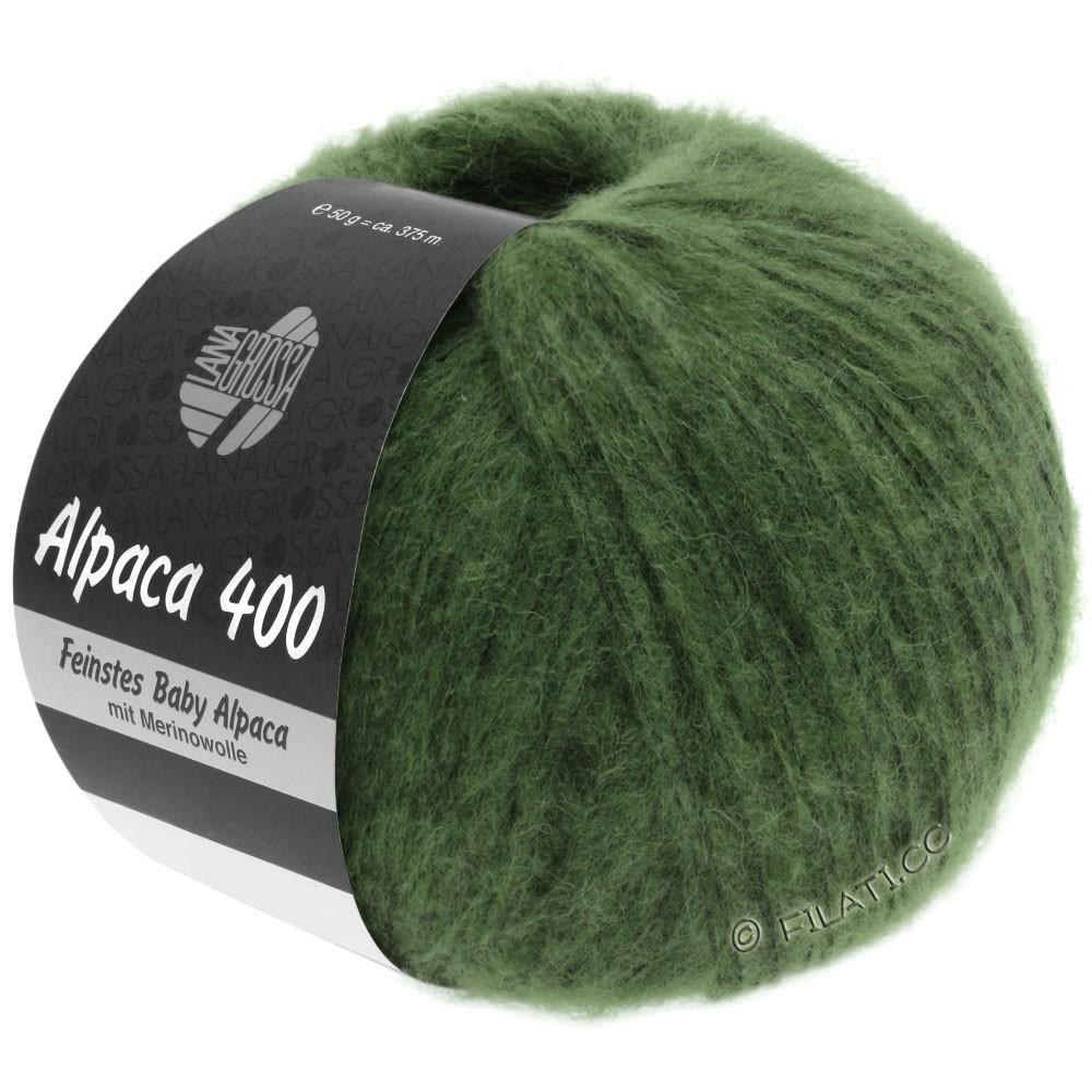 Lana Grossa ALPACA 400 | 19-vert foncé