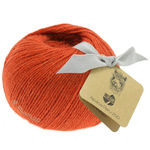 Lana Grossa ALPACA PERU 200 | 229-orange rouge