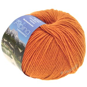 Lana Grossa ALPINA Landhauswolle | 42-orange terre cuite