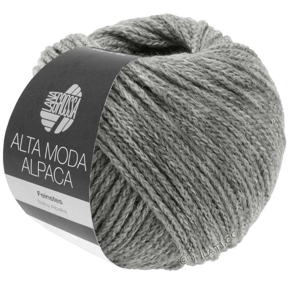 Lana Grossa ALTA MODA ALPACA | 12-gris clair chiné