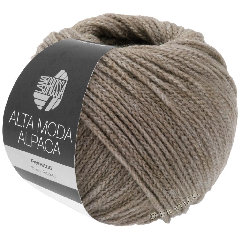 Lana Grossa ALTA MODA ALPACA | 15-gris/beige chiné