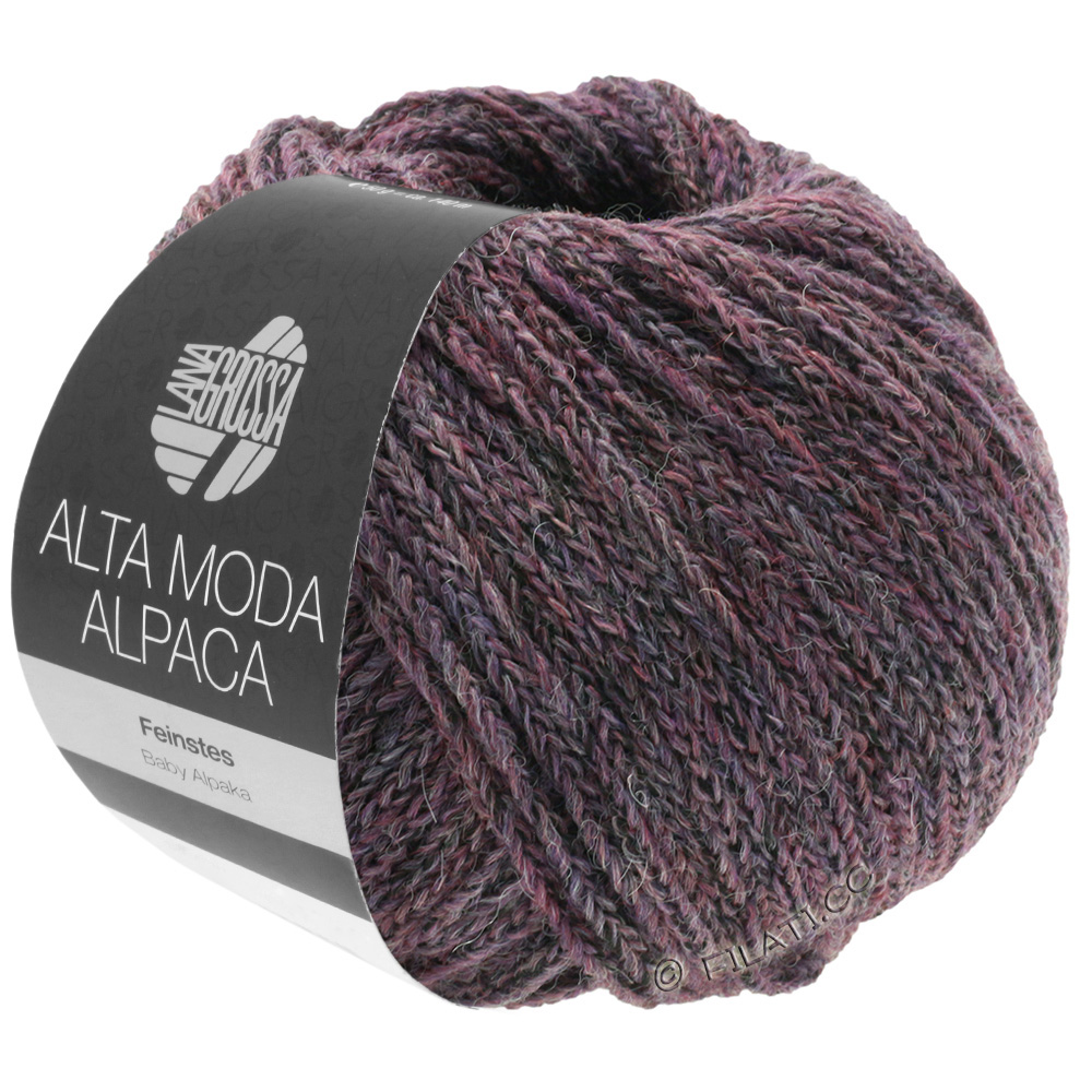 Lana Grossa Alpina Maison de campagne laine 100gr couleur couleur 5 gris chiné