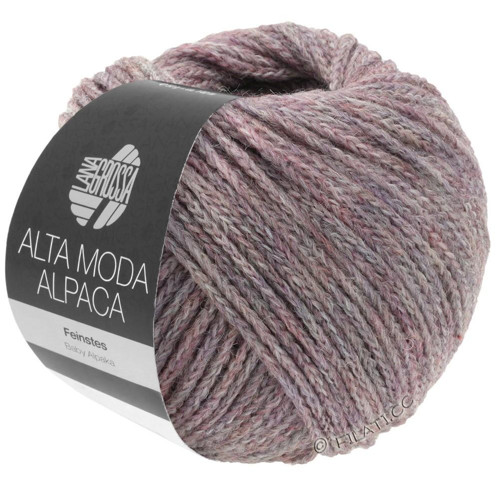 Lana Grossa ALTA MODA ALPACA | 44-lilas chiné