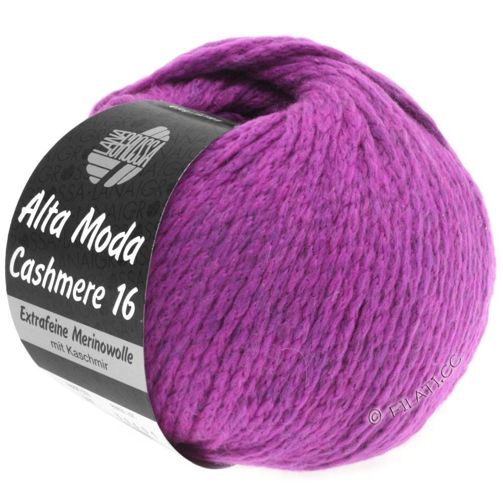 Lana Grossa ALTA MODA CASHMERE 16 Uni/Degradé   012-violet