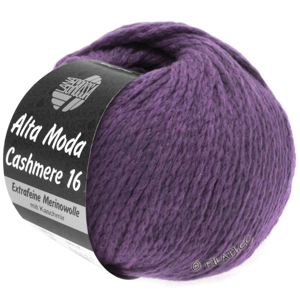 Lana Grossa ALTA MODA CASHMERE 16 Uni/Degradé   021-violet