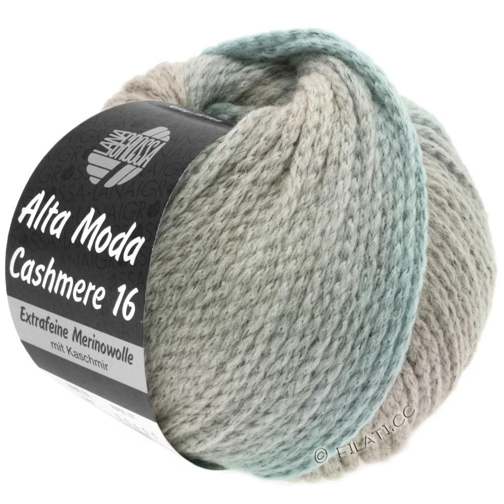 Lana Grossa ALTA MODA CASHMERE 16 Uni/Degradé | 106-grège/gris argent/gris clair/bleu pastel