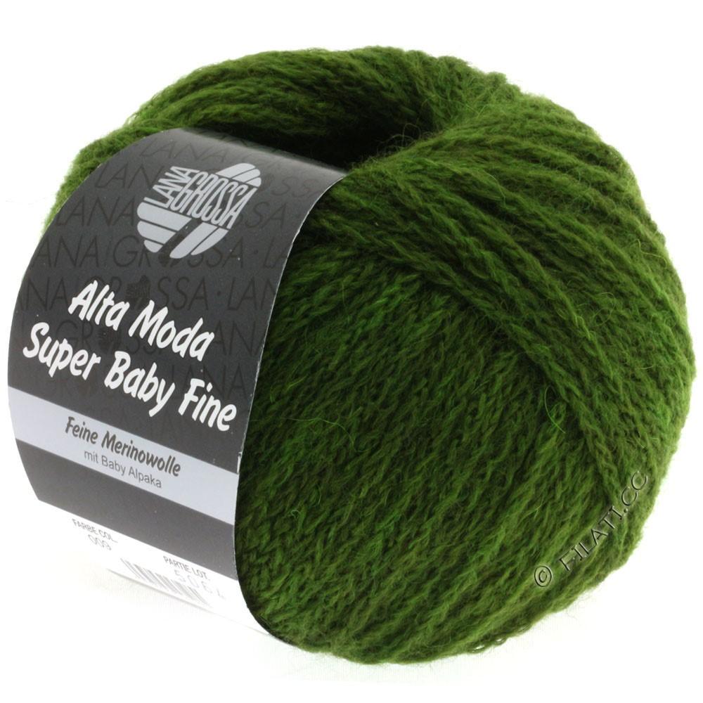 Lana Grossa ALTA MODA SUPER BABY FINE Uni | 09-vert olive