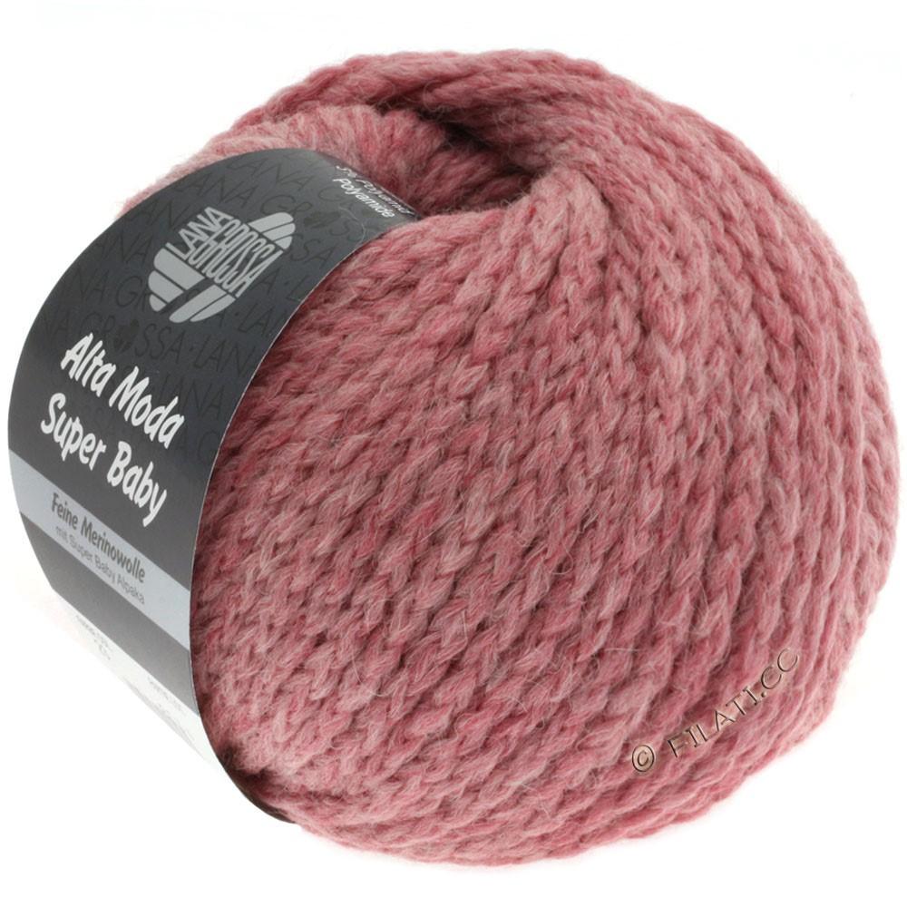 Lana Grossa ALTA MODA SUPER BABY Jaspè | 023-rose lilas