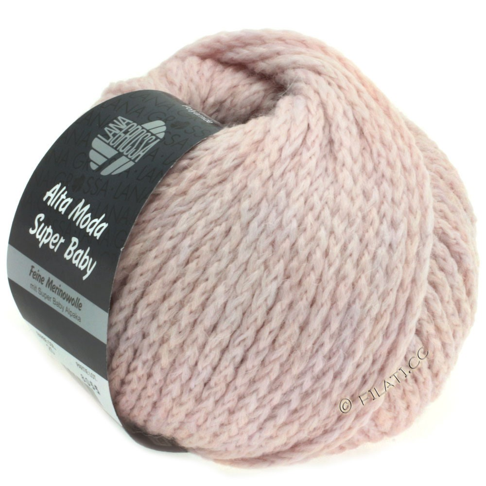 Lana Grossa ALTA MODA SUPER BABY  Uni | 025-rose pâle