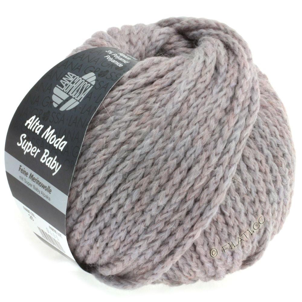 Lana Grossa ALTA MODA SUPER BABY Jaspè | 026-rose gris