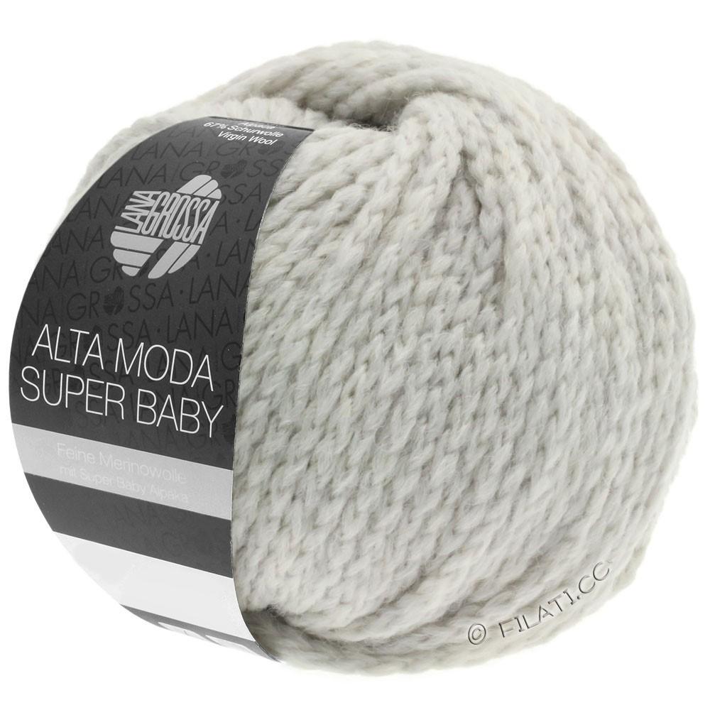 Lana Grossa ALTA MODA SUPER BABY  Uni | 40-gris argent