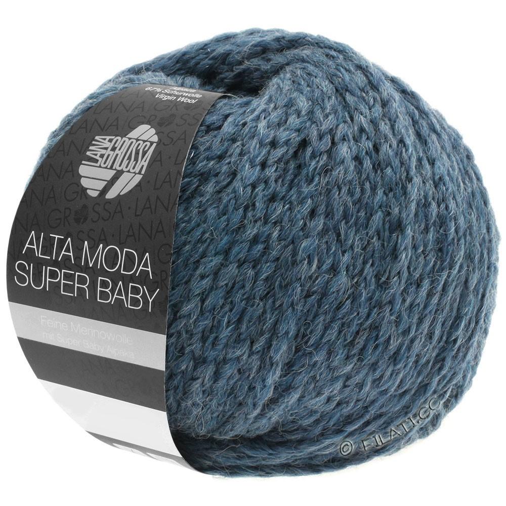 Lana Grossa ALTA MODA SUPER BABY  Uni | 041-bleu gris chiné