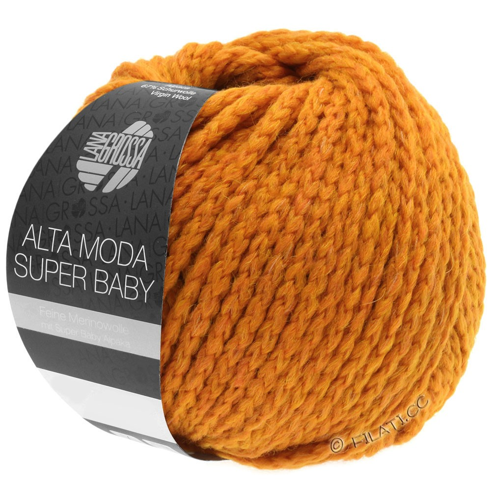Lana Grossa ALTA MODA SUPER BABY  Uni | 042-orange