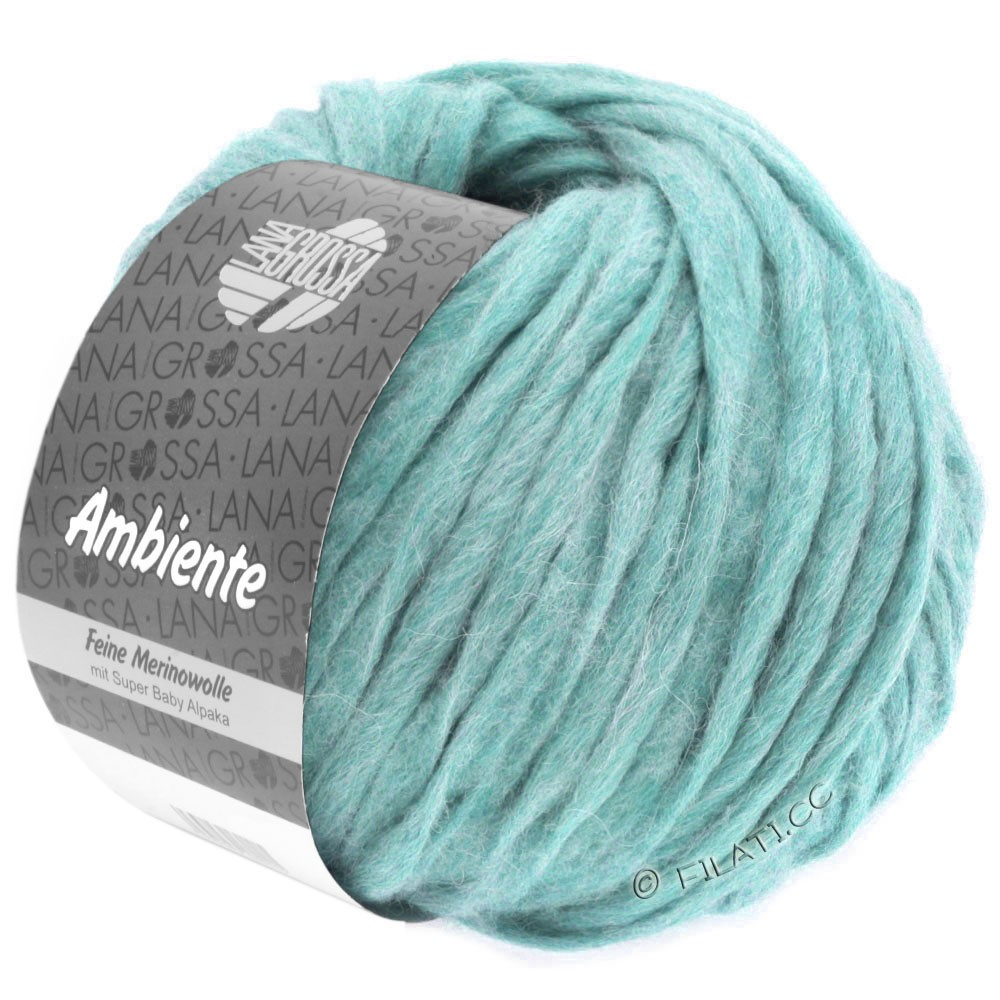 Lana Grossa AMBIENTE | 14-turquoise clair