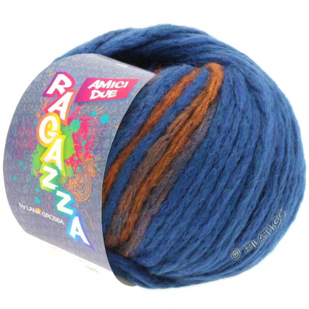 Lana Grossa AMICI DUE (Ragazza) | 103-bleu/cuivre
