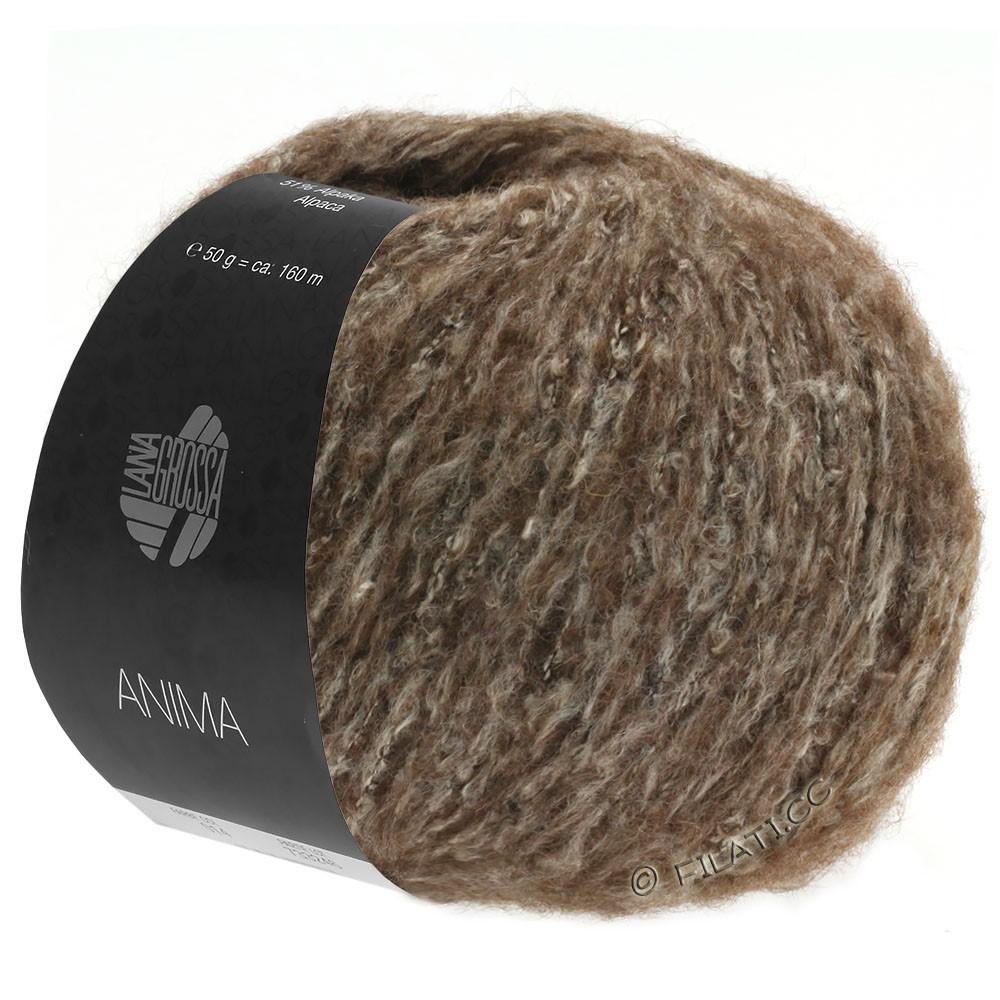 Lana Grossa ANIMA | 12-brun foncé chiné