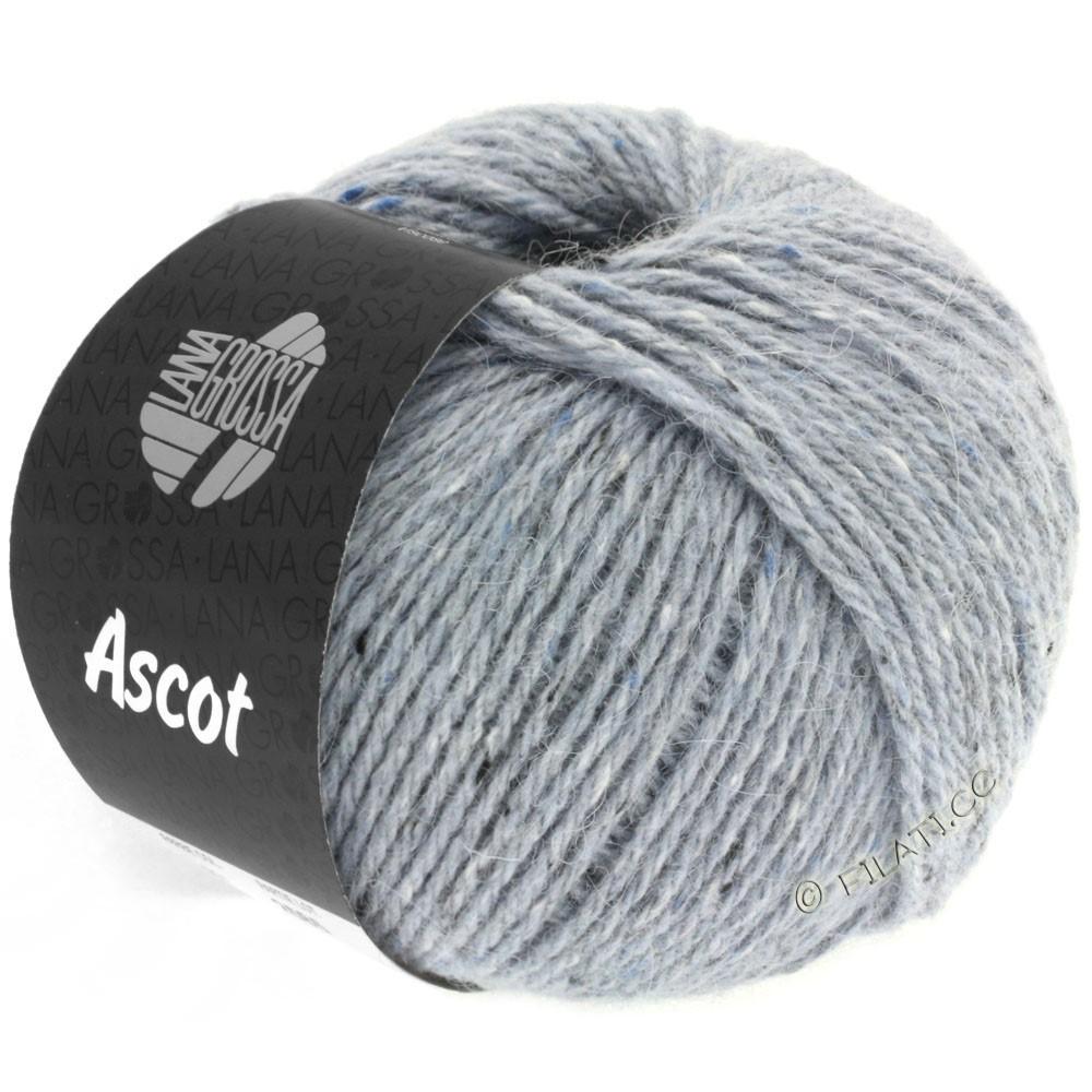 Lana Grossa ASCOT | 02-bleu gris chiné