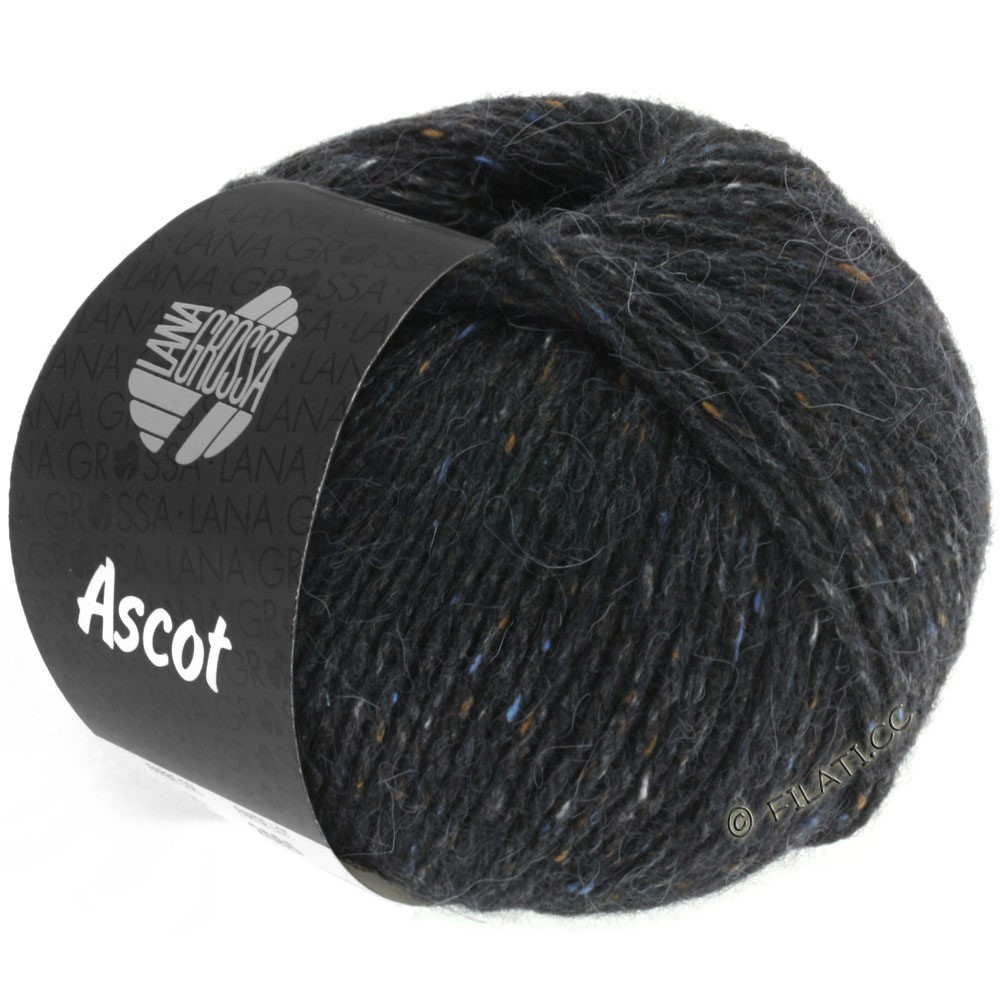 Lana Grossa ASCOT | 06-anthracite chiné