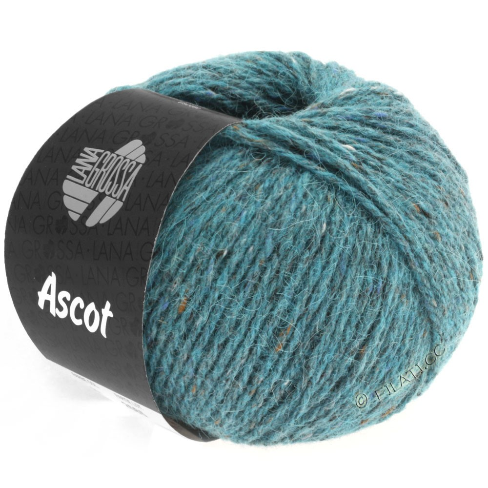 Lana Grossa ASCOT | 11-turquoise chiné