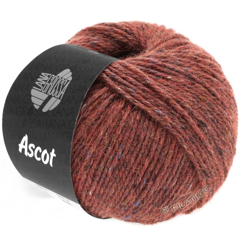 Lana Grossa ASCOT   18-rouge brun chiné