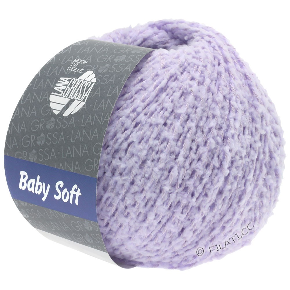 Lana Grossa BABY SOFT | 07-pourpre tendre