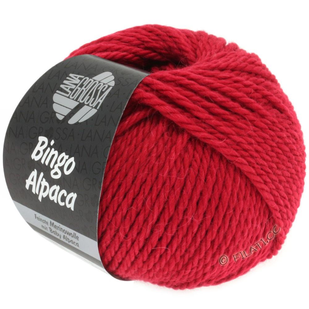 Lana Grossa BINGO ALPACA Uni | 05-rouge