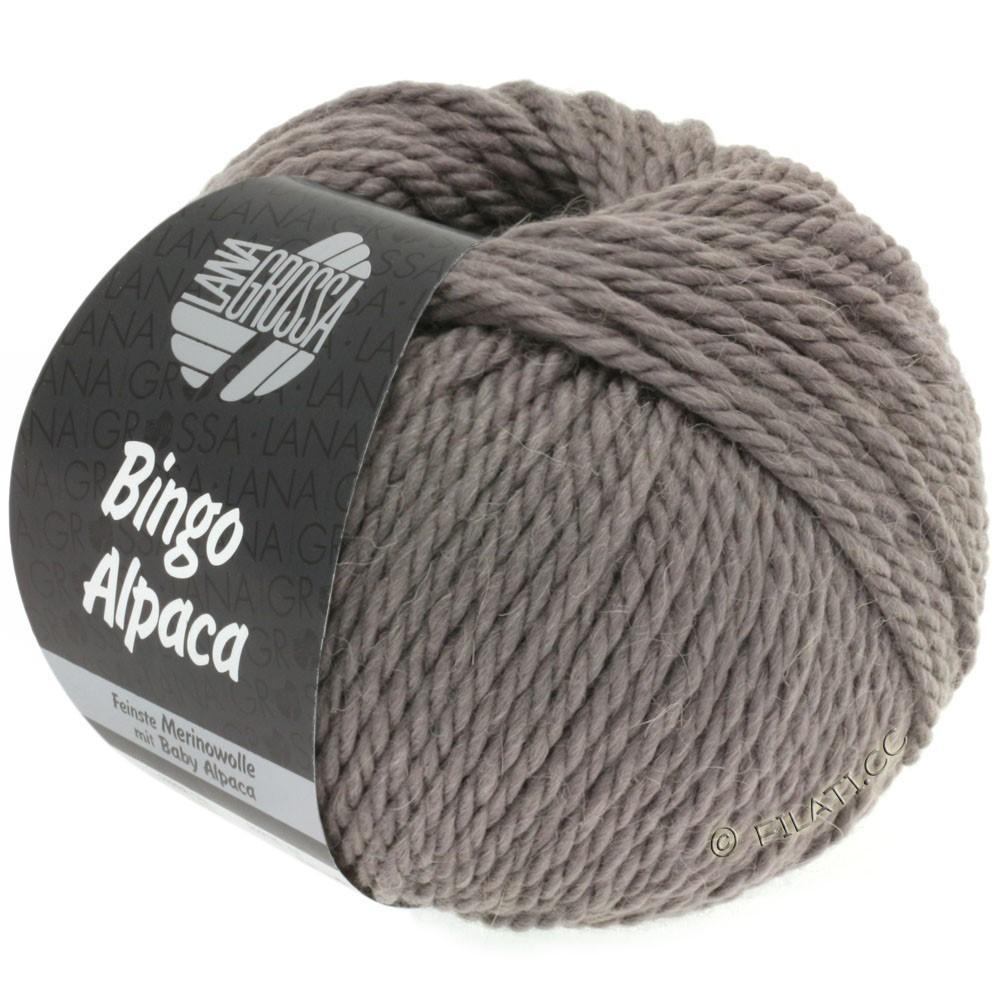 Lana Grossa BINGO ALPACA Uni | 06-brun gris
