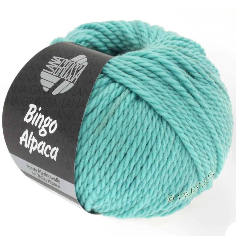 Lana Grossa BINGO ALPACA Uni | 09-turquoise