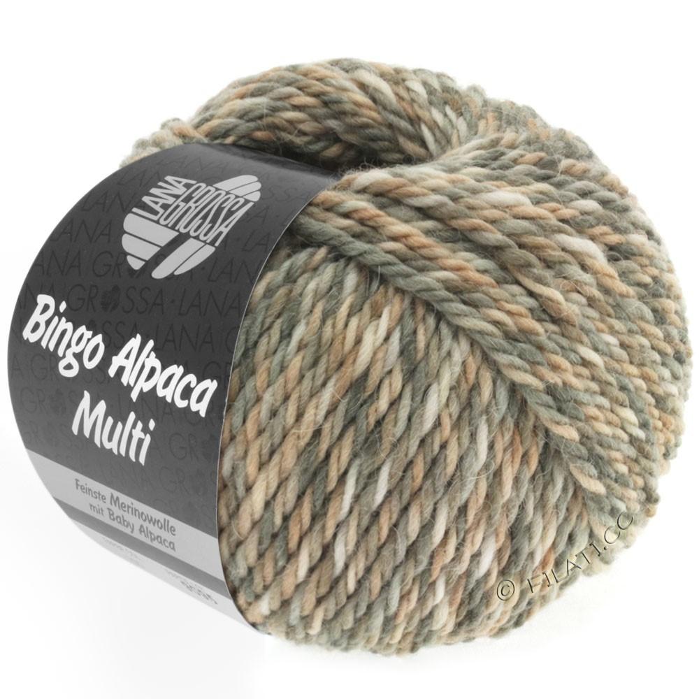 Lana Grossa BINGO ALPACA Multi | 102-taupe/beige/nature/grège/sable