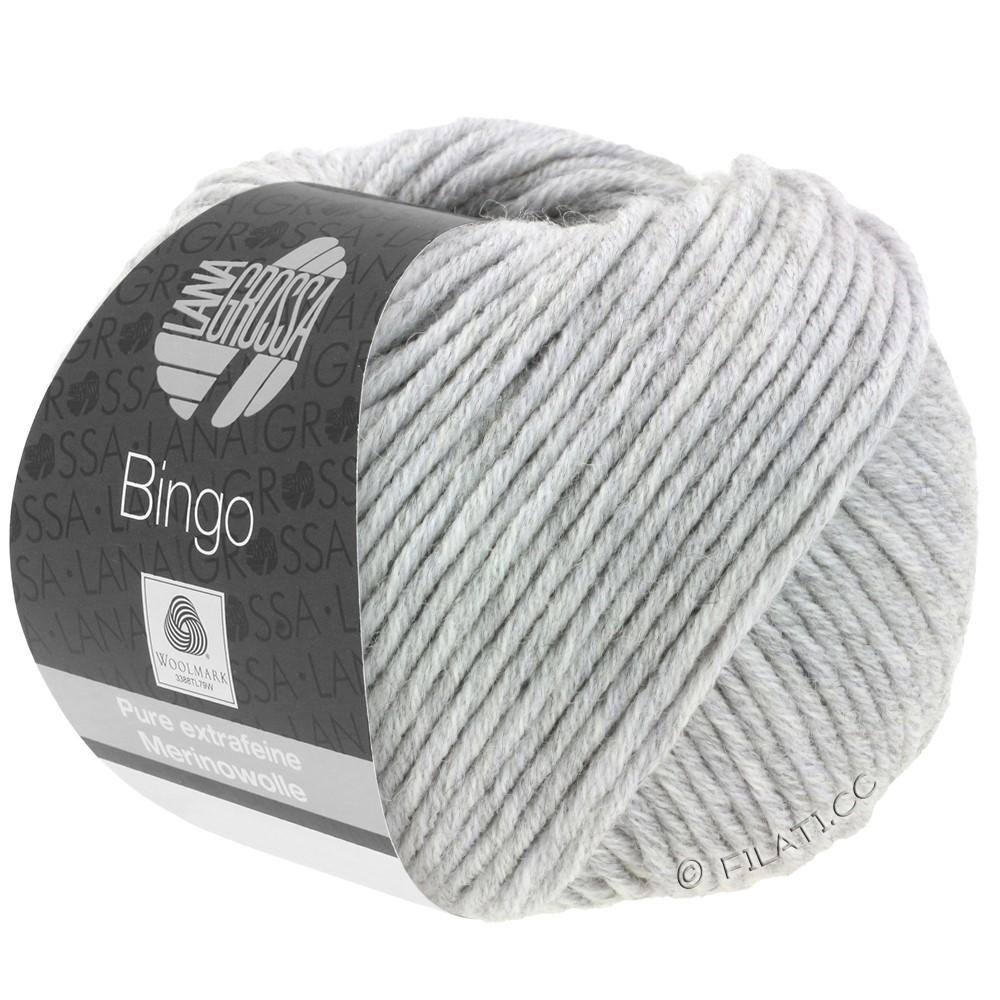 Lana Grossa BINGO  Uni/Melange | 001-gris clair chiné
