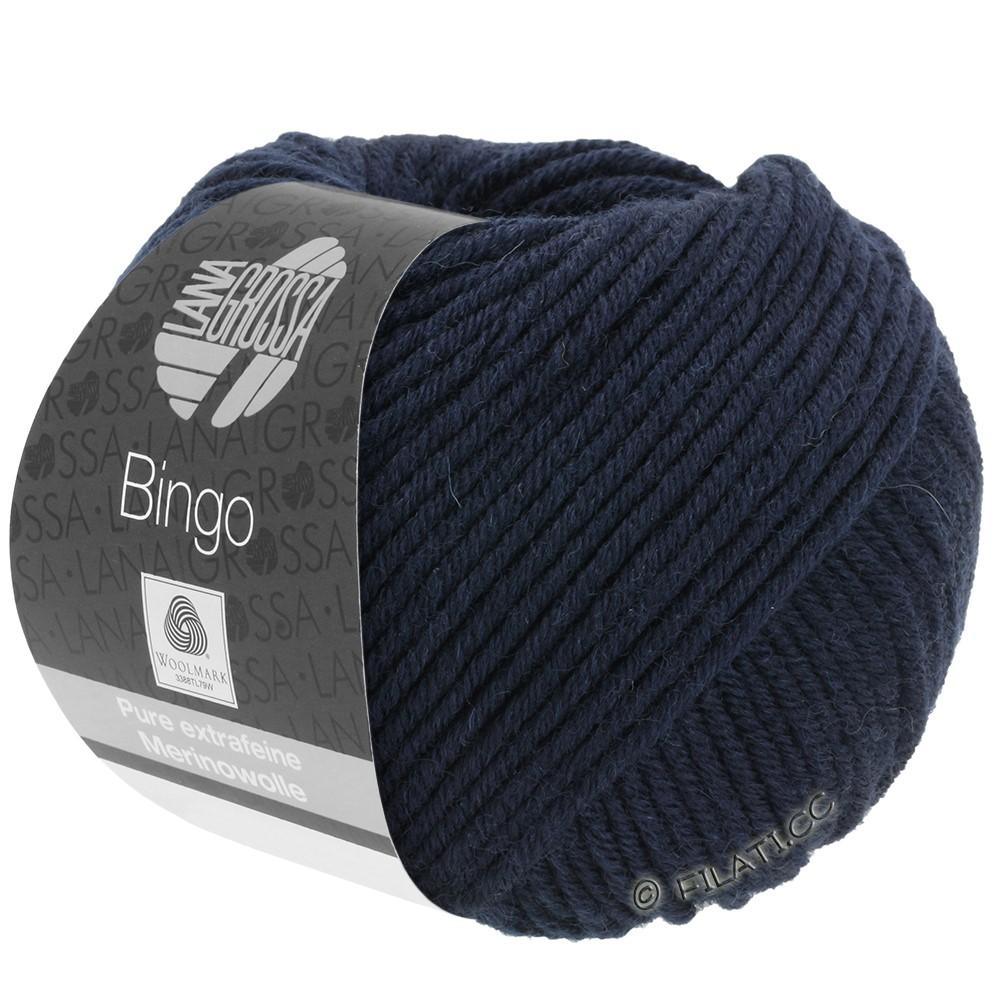Lana Grossa BINGO  Uni/Melange/Print | 008-bleu nuit
