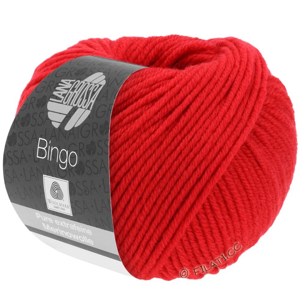 Lana Grossa BINGO  Uni/Melange/Print | 020-rouge lumineux