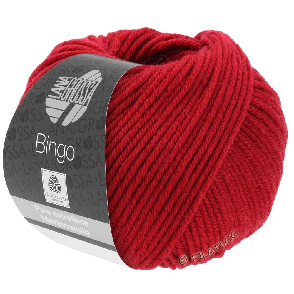 Lana Grossa BINGO  Uni/Melange | 044-rouge cerise