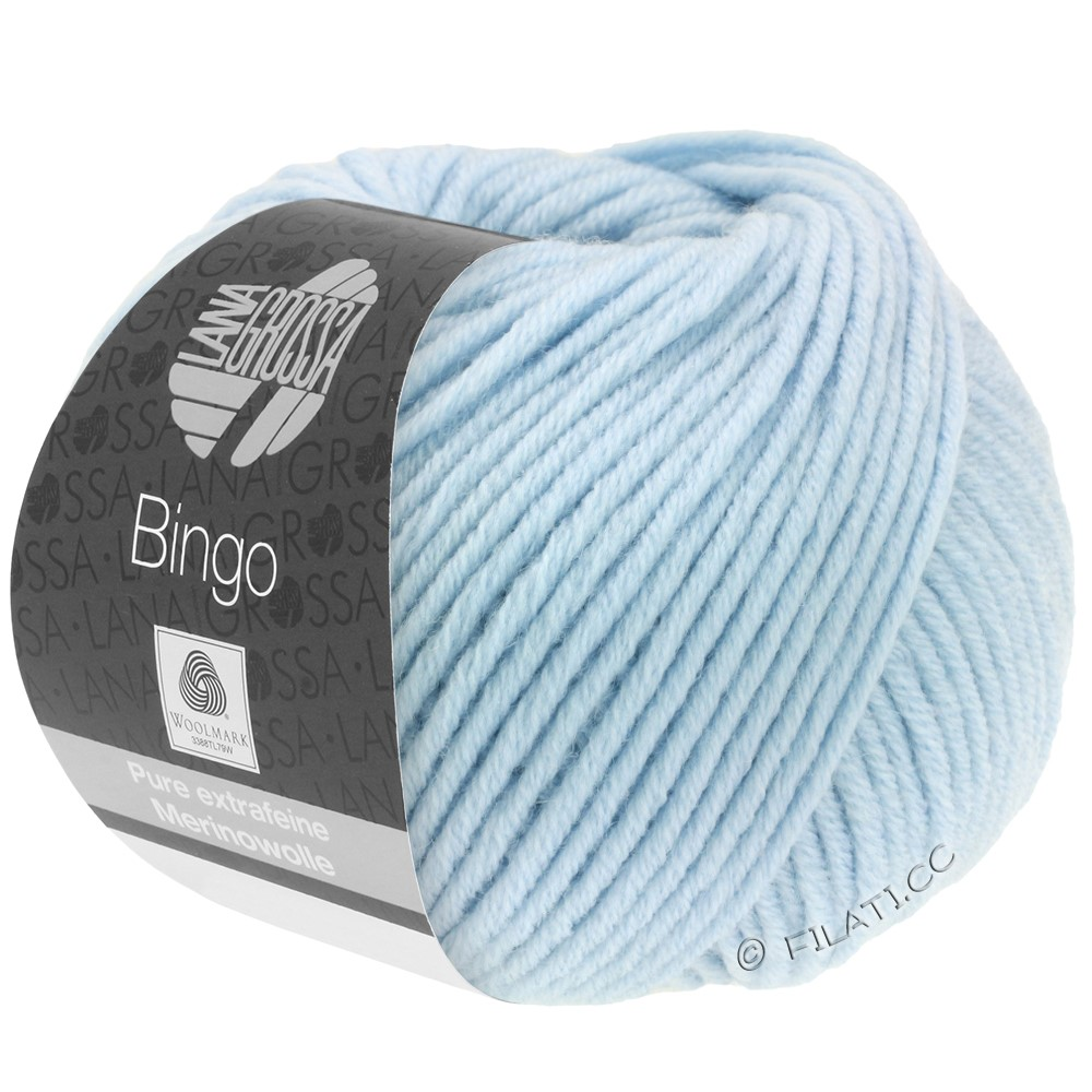Lana Grossa BINGO  Uni/Melange/Print | 056-bleu glace