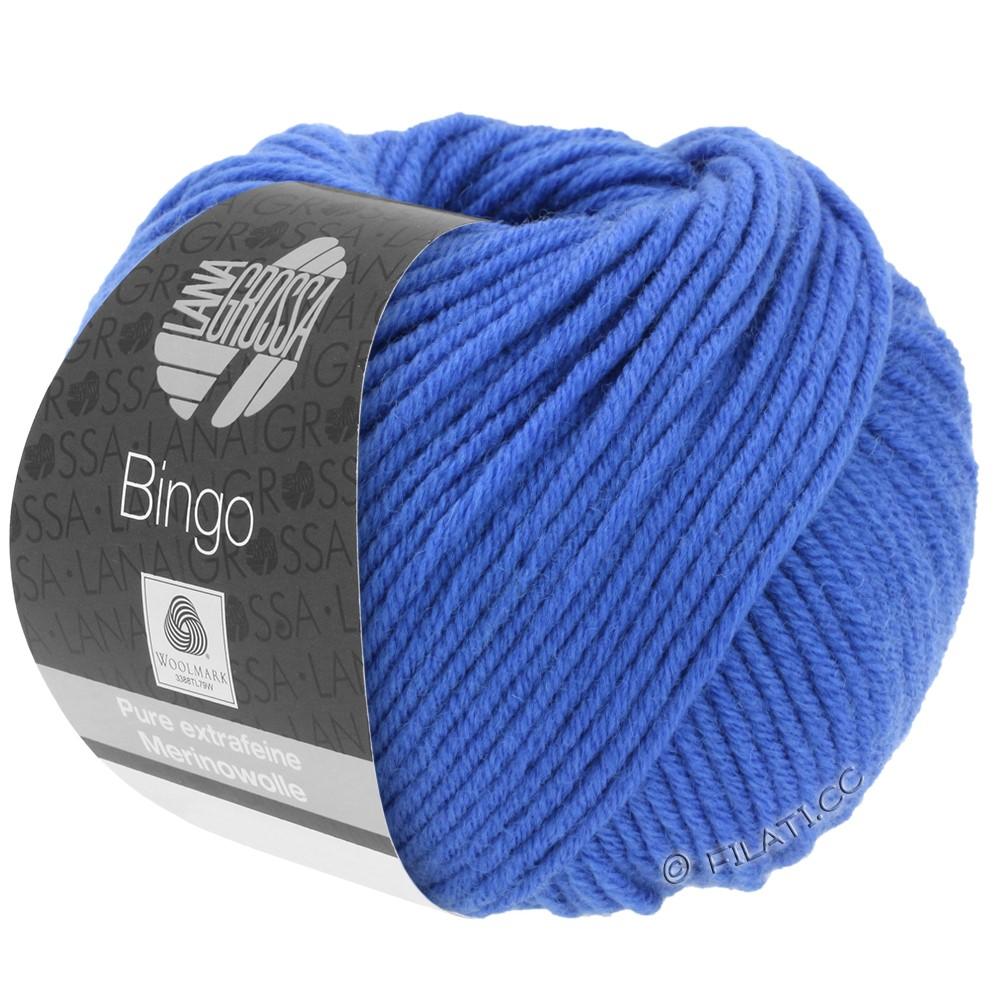 Lana Grossa BINGO  Uni/Melange/Print | 090-bleu cobalt
