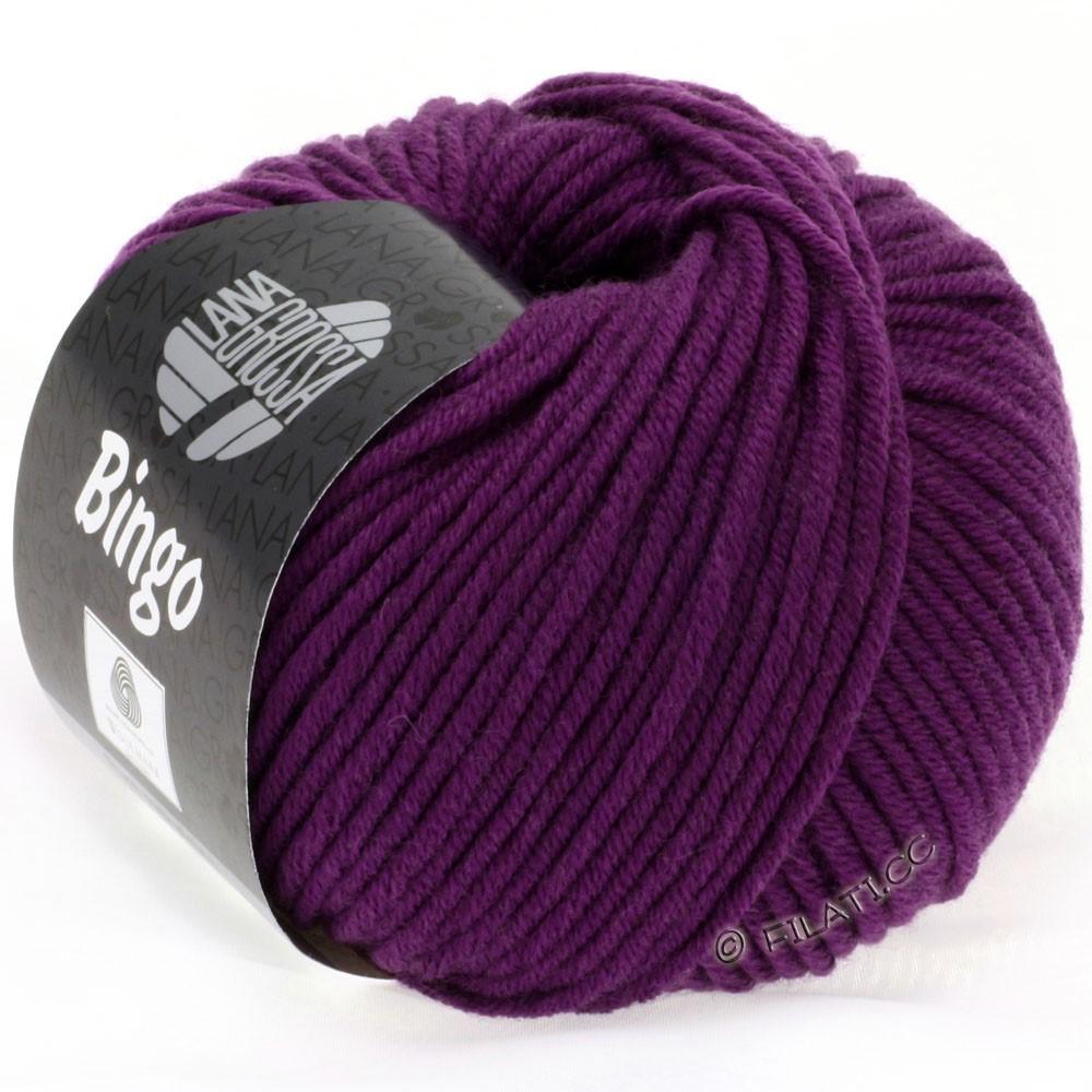 Lana Grossa BINGO  Uni/Melange | 128-violet rouge